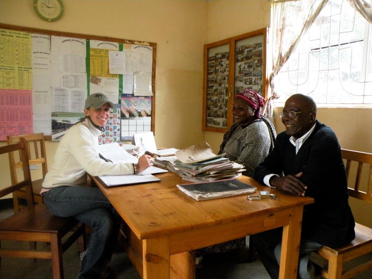 Arusha School June 2009